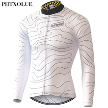 Phtxolue 2017 Long Sleeve Cycling Jerseys  Men Quick-Dry Spring Mountain Bike Clothes Breathable Bicycle Cycling Clothing west biking autumn women cycling clothes quick drying outdoor long sleeve clothing spring and riding fitness sports coat jerseys