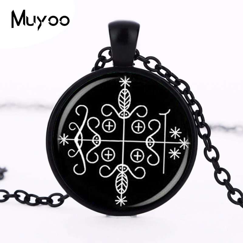 fashion papa legba voodoo pendant ritual altar pendant occult medallion pendant NECKLACE jewelry HZ1