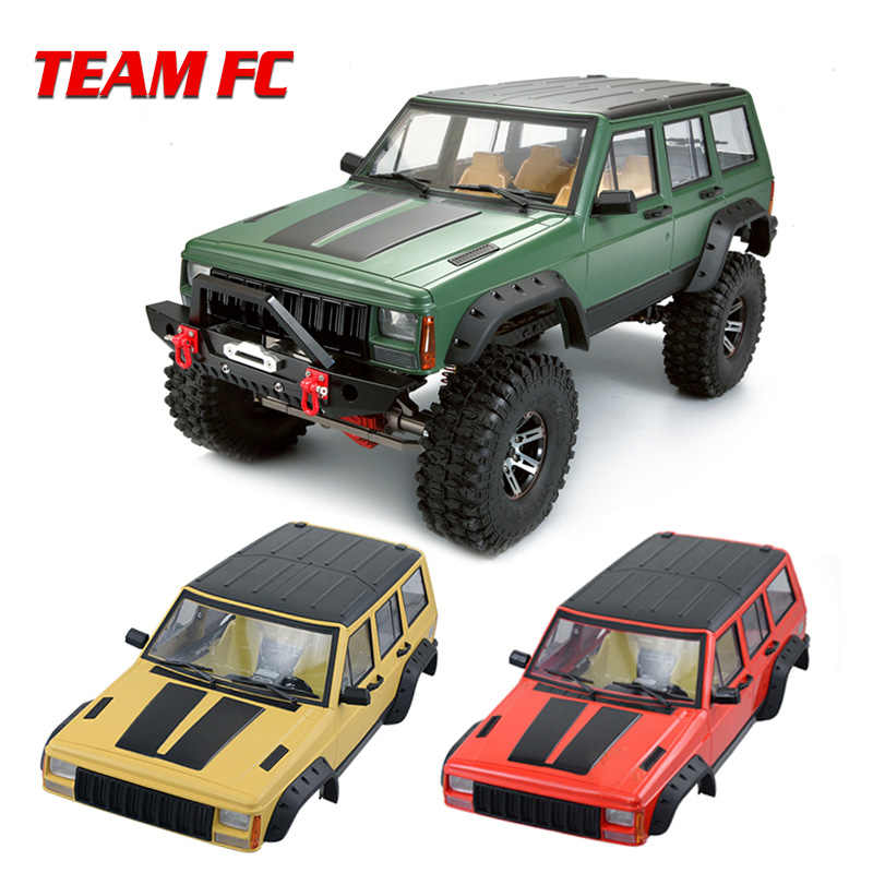 1pcs Painted Hard Plastic 313mm Wielbasis Lichaam Auto Shell voor 1/10 RC Crawler Axiale SCX10 & SCX10 II 90046 90047 S80