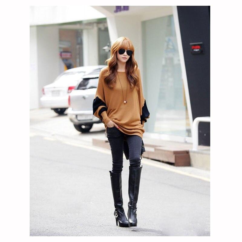 Пуловери есен нова риза за дива - Дамски дрехи - Снимка 3