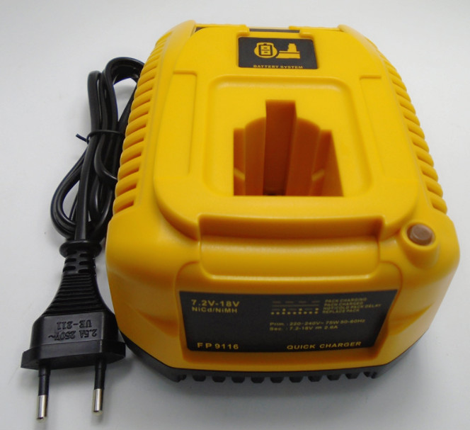 For Dewalt 7.2V - 18V NI-CD NI-MH Battery Charger For DC9310 DW9116 DE9130 DE9310 Electric Drill Tool Accessory