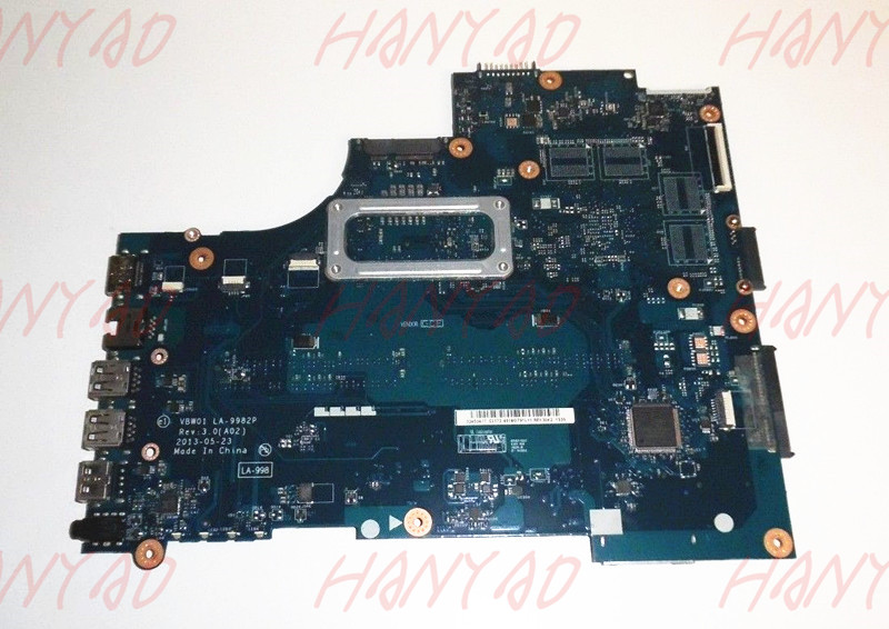0D28MX CN 0D28MX For Dell 15R 5537 laptop motherboard mainboard i5 cpu LA 9982P DDR3 100 tested in Laptop Motherboard from Computer Office