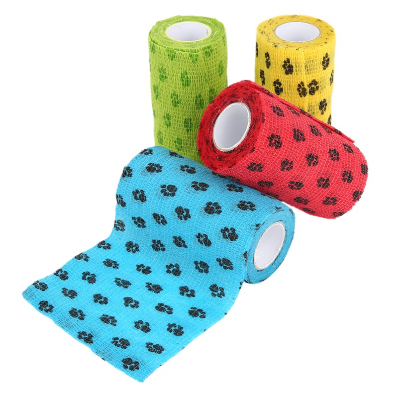font b Pet b font Dog Cat Health Wrapping Bandage Breathable Tearing Non woven Cloth