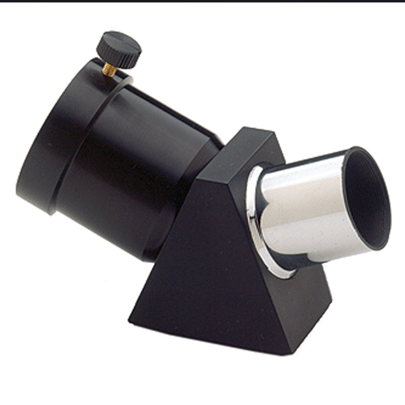 celestron For metal 45 full prism zenithal mirror 1.25 31.7mm astronomical telescope Adapter 1.25'' 45-Degree prism eyepiece imaging flip mirror for telescope with 1 25 eyepiece