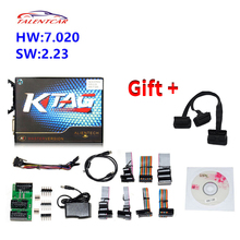 New Arrival KTAG V7.020 SW V2.23 Master Version 2.23 K-TAG 7.020 No Token Limited For Car Truck K TAG Auto ECU Programming Tool