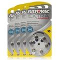 60 PCS Rayovac Extra desempenho baterias de aparelhos auditivos. Zinco ar 10 / A10 / PR536 bateria para CIC aparelhos auditivos. Frete grátis