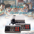 Retro Mini TV Handheld Family Recreation Video Game Console Built-in 600 Classic Games Dual Gamepad Gaming Player