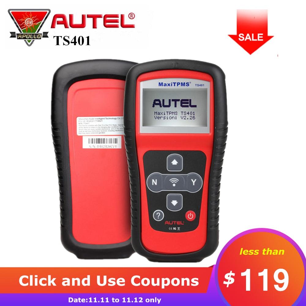 [Autel Distributor] Autel TS401 TPMS Diagnostic and Service Tool Sensor Tool Receive 315mhz 433mhz Sensor Signals