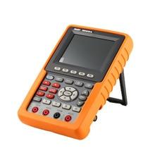 OWON цифровой осциллоскоп точность HDS1021M-N HDS2061M-N 20/50/100 МГц одноканальный Ручной осциллограф 500 M 1GSa/s