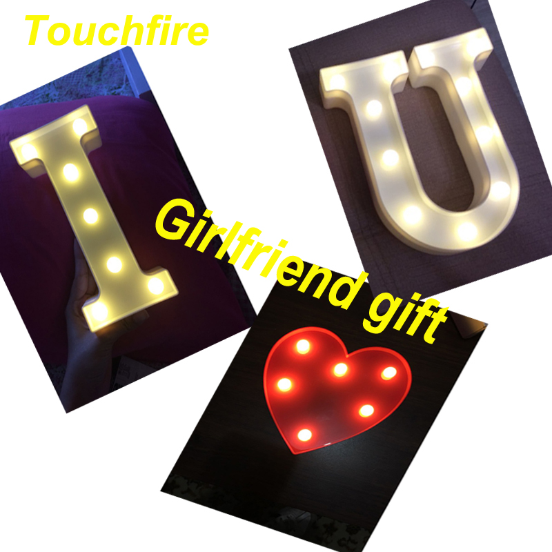 Любовь светодиодный письмо Рождество знак ночь свет лампы для рождения жениться свадебный этап вечерние комнаты признаться подарки, украш...