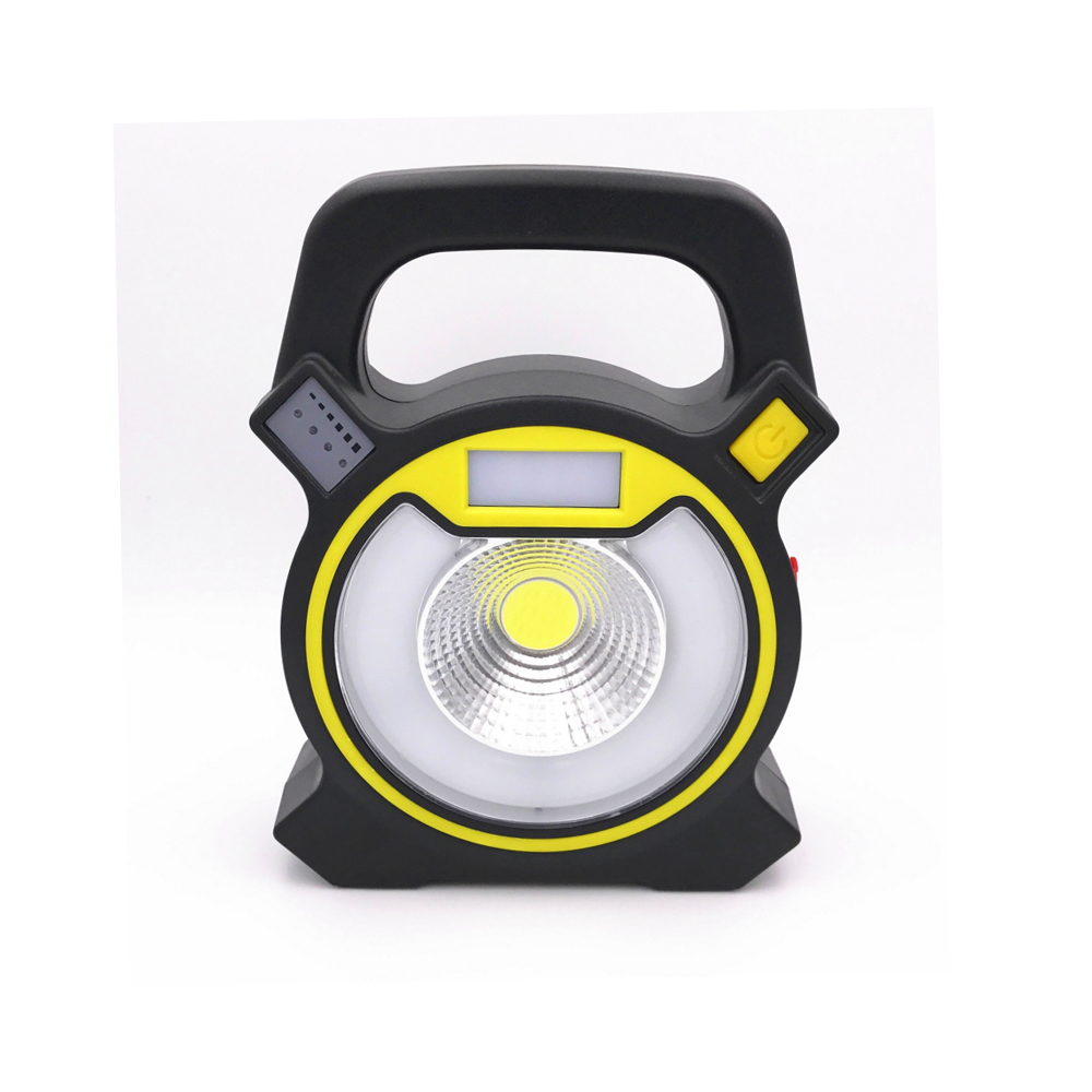 Multi-functional led working light emergency lamp with alarm mode micro usb rechargeable portable lamp ...