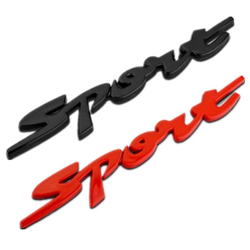 1X Araba Styling Spor Çıkartmaları Suzuki Swift Için Grand Vitara SX4 Vitara 2017 Jimmy Için Fiat 500 Punto Stilo Bravo aksesuarları