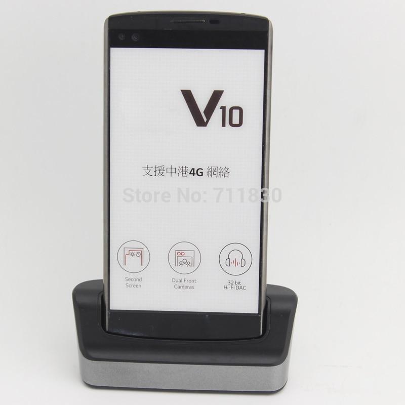 BL-45B1F V10 Battery Charger For LG V10 H968 H961 BAK-110 F600 Black Desktop Dual Data Sync Dock Cradle H901 H900