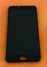 Tela lcd + tela touch + moldura para umi, umidigi c note mtk6737t quad core 5.5 Polegada fhd frete grátis, frete grátis