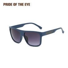 Мужские солнцезащитные очки с поляризацией дизайнерские зеркальные