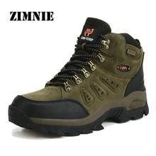 Alta Calidad de la Marca Al Aire Libre Botas de Senderismo Zapatos Nuevo Otoño Invierno Para Hombre Deporte Fresco Ante de Las Mujeres Botas de Escalada Trekking de Montaña