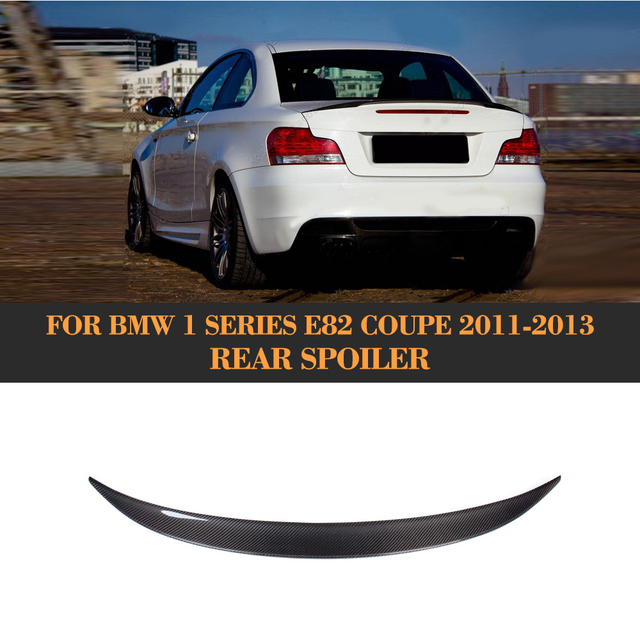 Bmw 128i Price: Carbon Fiber Rear Wing Spoiler Tail Trunk Lid Boot Lip