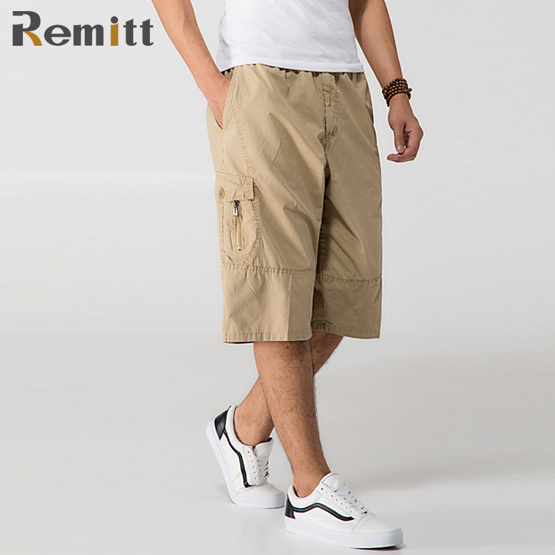 Men Military Tactical Cargo Shorts Male Summer Casual Capris Plus Size XXXL 4XL 5XL 6XL Man Yellow Knee Length Short Ashant