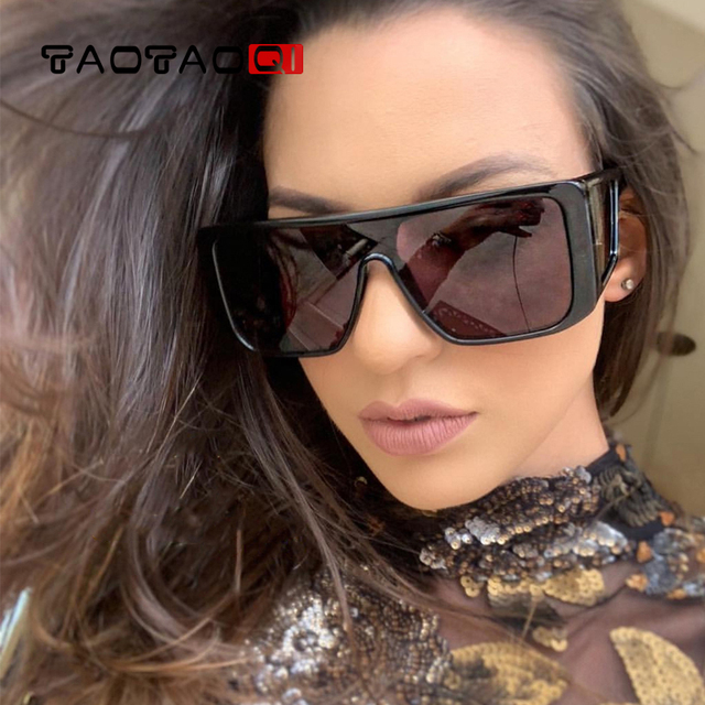 f38106a873f4 TAOTAOQI Oversized Sunglasses Women Big Frame Square Sun Glasses Men Brand  Designer Fashion New Vintage Shades Eyewear UV400