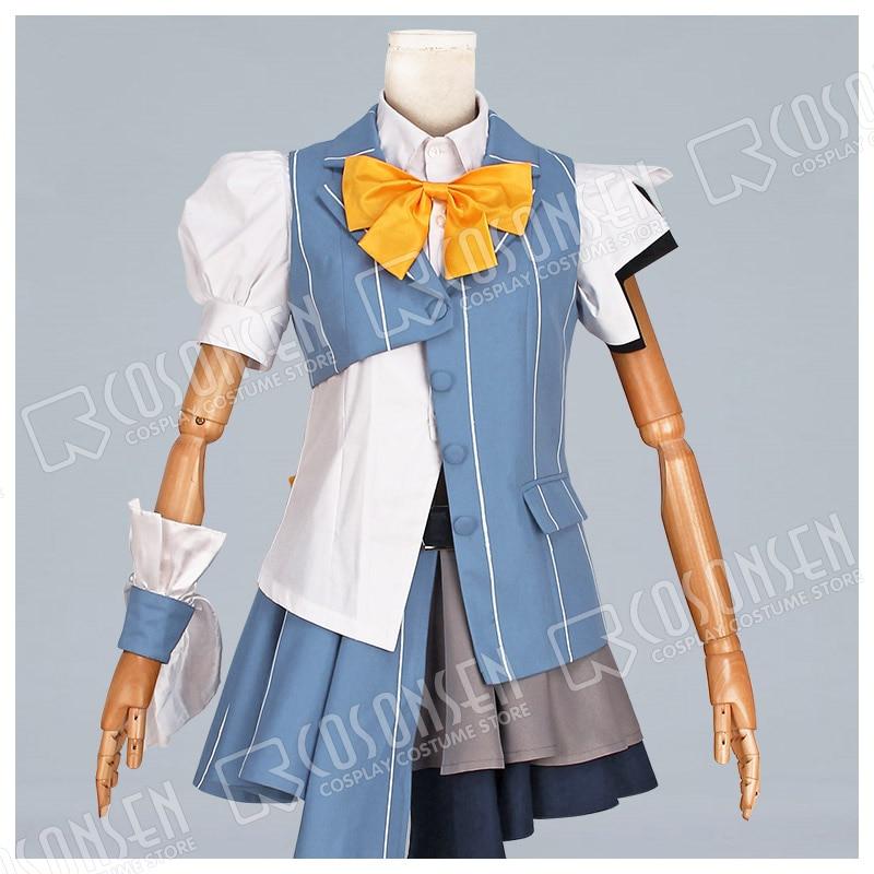 COSPLAYONSEN Macross Delta Freyja Wion Fureia Wion Cosplay Costume All Size