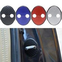 Car Door Lock Cover With Sticker For MAZDA CX-5 CX7 MAZDA 8 6 2 MAZDA 3(2011-2013) Axela Atenza Mitsubishi Lancer Car Styling