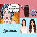 Long Hair 7A Aiexpress UK Clip ins 100% Human Hair Extensions Silky Straight Hairia Luxury Human Hair Color #4  8pcs 160g 18inch