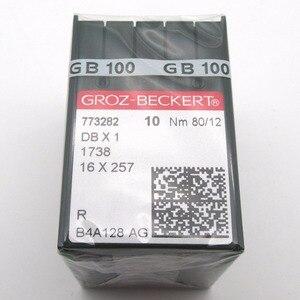 Image 1 - Иглы для швейной машинки Groz Beckert DBX1 100 16X257, совместимые с JUKI DDL,BROTHER DB2, 1738 шт.