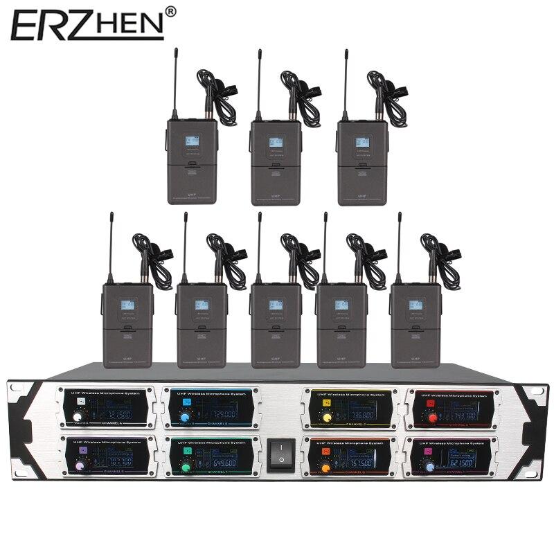 Bežični mikrofon Novi U9000GTA2 UHF 8 kanala Fiksna frekvencija + - Prijenosni audio i video - Foto 4