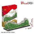 Продвижение Подарок Cubicfun 3d Головоломки Великая Китайская Стена Бумаги Развивающие Игрушки для Детей MC167h