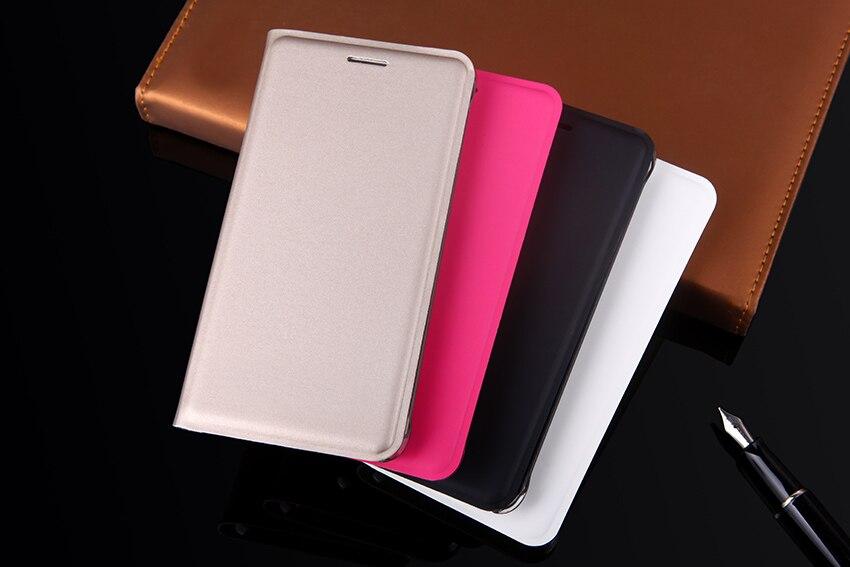 Slim Flip Cover Shell Phone Bag con tarjetero Funda de cuero Funda - Accesorios y repuestos para celulares - foto 5