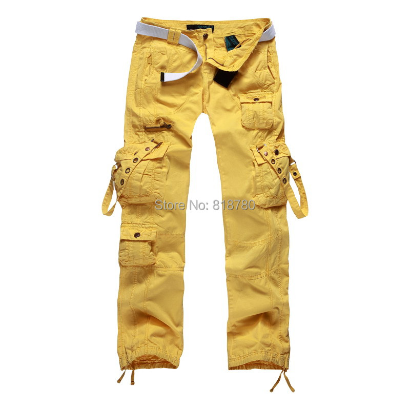 Aliexpress.com : Buy Women's Clothing Women Lemon Yellow Cargo ...