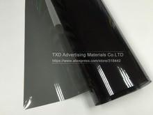 Cheapest VLT 35% 50 x 300 CM/Lot Black Car Window Tint Film Glass 1 PLY Car Auto House Commercial Solar Side Window Tint Film