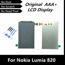 100% Working Well LCD Replacement  For Nokia Lumia 820 LCD Screen Display Glass with Free Tools