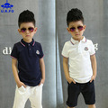 Retail New Summer Cool Kids Baby Clothing Set Boys Suit Cotton Short Sleeve Tees + Shorts Pants 2 Pieces Suit 5-12Y