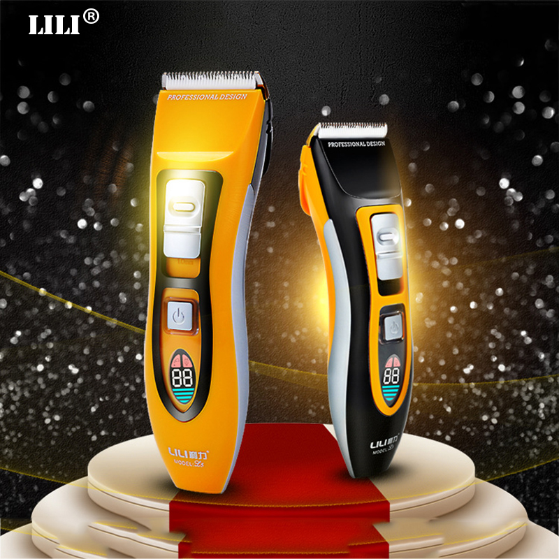 LED display Professional Hair Trimmer high quality Electric barber clippers Powerful Hair clipper beard Hair Cutting machine professional electric hair clipper razor child baby men electric shaver hair trimmer cutting machine haircut barber tool hot3637