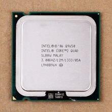 100% работает на Intel Core 2 quad Q9650 SLB8W 3.0 ГГц 12 МБ 1333 мГц разъем 775 процессор CPU