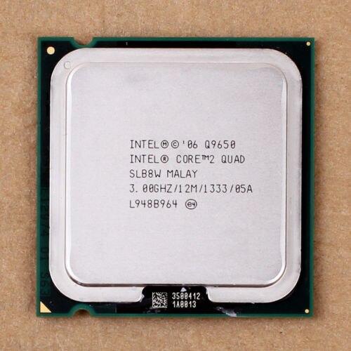 100% Çalışma Için Intel Core 2 Quad Q9650 SLB8W 3.0 GHz 12 MB 1333 MHz Soket 775 İşlemci İşlemci