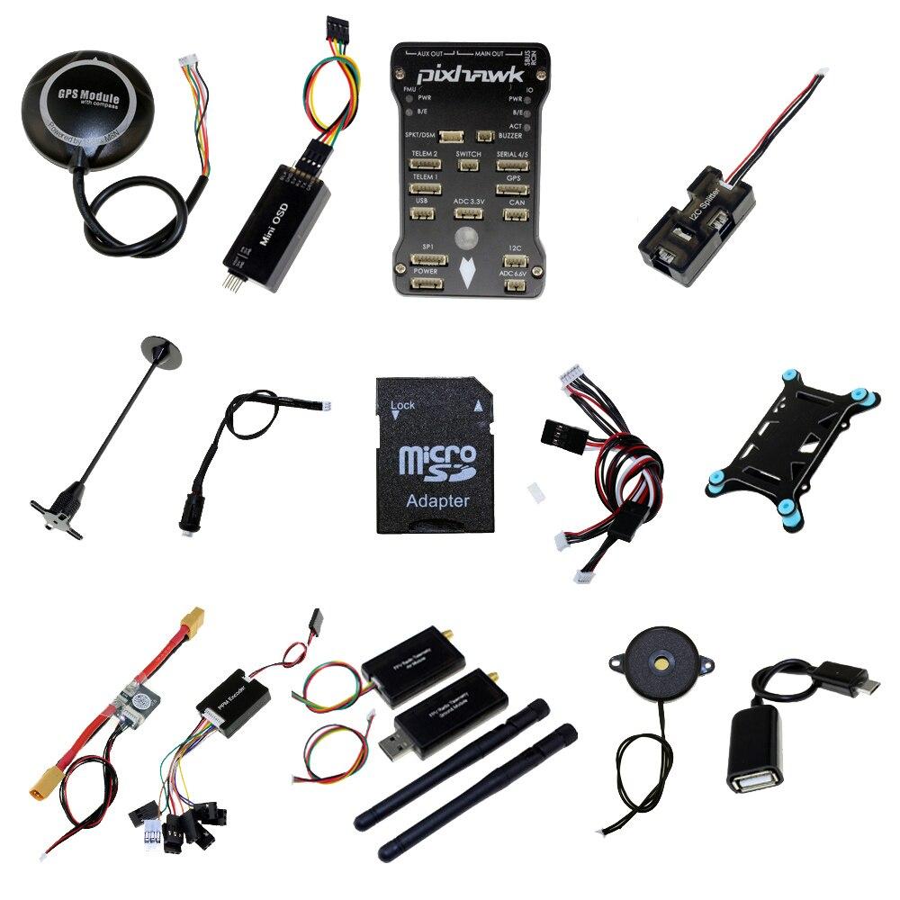 PX4 Pixhawk 2 4 8 Flight Controller Telemetry 433Mhz 915Mhz NEO M8N GPS PX4 Radio OSD