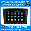 Android 5.1 car dvd gps for Renault Symbol Megane II with radio bluetooth wifi mp3 audio player