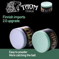 New Taom Chalk Blue Green Colors Billiard Chalk Snooker Chalk Pool Cue Chalk Professional Durable Billiard Accessories 2019