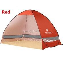 Rapide Ouverture Automatique tente plage Auvent soleil abri demi-ouvert étanche tente ombre ultra-léger pour camping en plein air de pêche