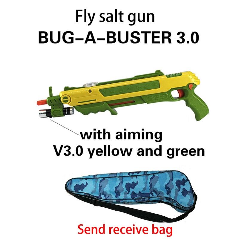 12type Hot Summer Gift Bug A Salt Fly Gun Salt Pepper Bullets Blaster pistola airsoft Gun kill Mosquito flyToy outdoor Salt Gun 4