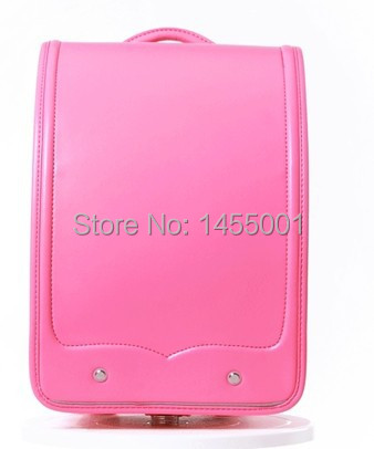 ФОТО coulomb BL.RS.0020 Randoseru for girls and boys school bag japanese bag fits for A4 file protect spine high quality