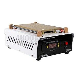 "Image 5 - לUYUE 948T 7 ""אינץ מחממים מכונת נפרדת LCD מסך מפריד מובנה משאבת ואקום מפוצל טלפון חימום פלטפורמה"
