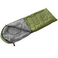 Siêu nhẹ Ngoài Trời Túi Ngủ Cotton Loại Phong Bì Người Lớn Duy Nhất Cắm Trại Xuống Túi Ngủ Thiết Bị Túi Ngủ Cửa Hàng Trực Tuyến