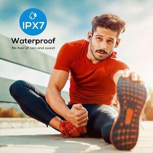 Image 4 - อัพเกรด Mpow T6 TWS Bluetooth 5.0 หูฟัง 3D สเตอริโอไร้สายหูฟัง IPX7 กันน้ำพร้อมไมโครโฟนตัดเสียงรบกวน