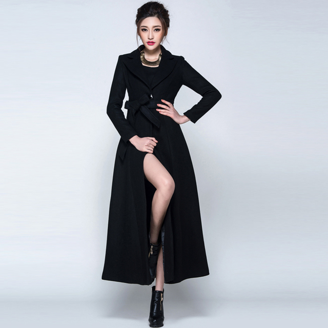 Aliexpress.com : Buy 2016 New design women long coat fashion ...