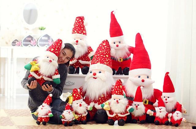 New Christmas gift 50cm/100cm/150cm Santa Claus Father Christmas ...