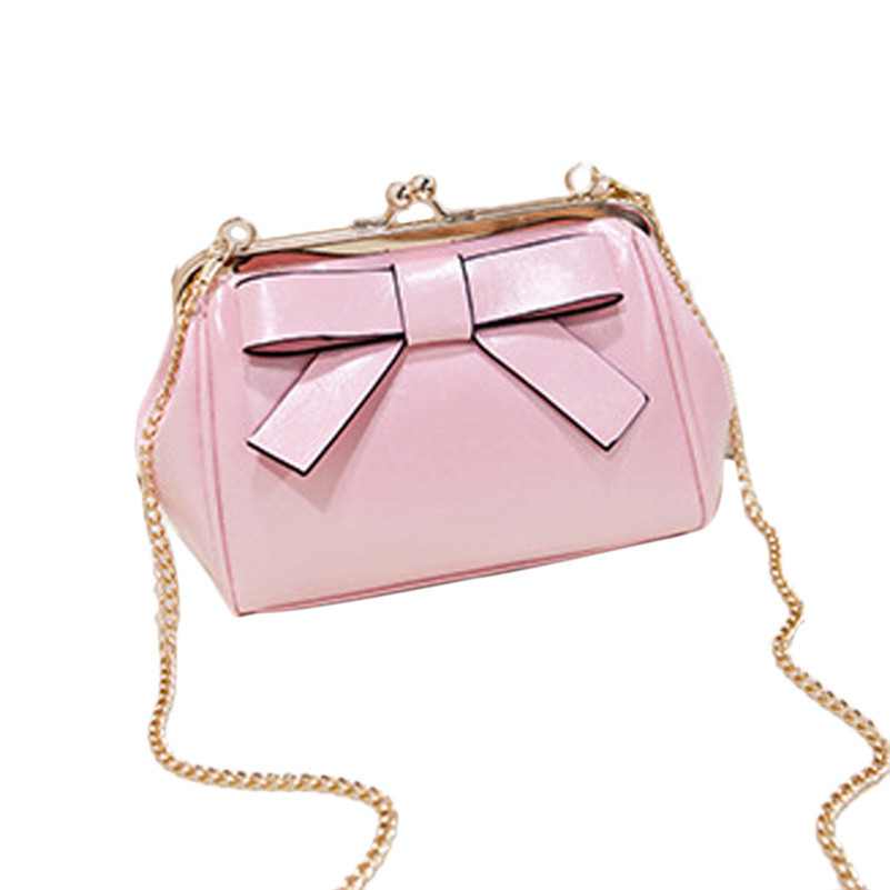 2016 Leisure Womens Girls Candy Color Mini Bag Small Shoulder Bags With Chain Bag Designer Handbags