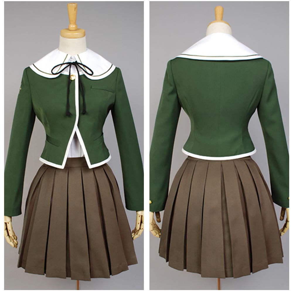 Danganronpa Chihiro Fujisaki Cosplay Costume For Women Men Halloween Carnival Full Sets